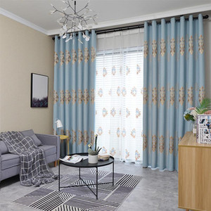 Custom Nordic Curtains Blackout Curtains for Living Room Dining Room Bedroom Chenille Jacquard Luxury Yarn
