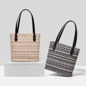 Gosto especial de HBP - 2020 mulheres bolsas vintage impresso canvas balde saco de bolsa de tote da menina sacos de moda