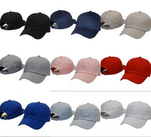 2021 Hot New Fashion Polos Golf Hats Cientos Strap Back Cap Hombres Mujeres Hueso Snapback Hat Ajustable Casquette Panel Deportes Golf Gorra de béisbol