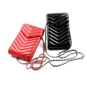 Pouches Designer téléphonique pour Iphone 12 Pro Max de haute qualité Etui pour téléphone à main en cuir de cas Petit portefeuille de cartes de poche Convient pour la plupart des téléphones