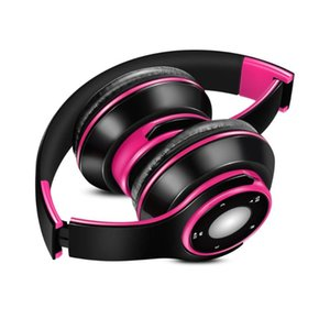 Best Colorful Earphones Wireless Bluetooth 5.0 Headsets Built-in Mp3 Player Foldable Sport Headphones Stereo Sound For Cellphone