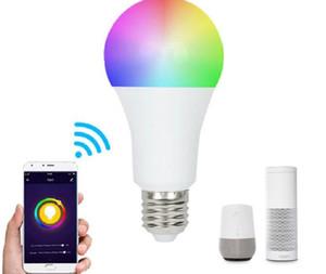 스마트 LED 전구 와이파이 LED 전구 빛 9W RGB 매직 전구 조명 Alexa Google 스마트 홈