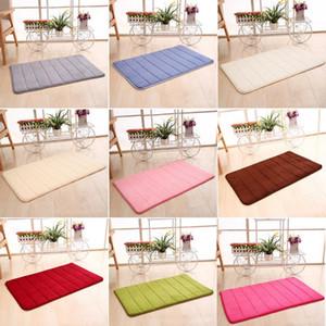 Memory cotton slow rebound carpet mat coral foam non-slip carpet soft bathroom memory foam bath mat coral fleece Blanket