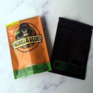 Новый Gorilla Clue Bag California 3.5G Mylar Сумки пахнувшие сумки Gorilla клей на молнии для сухой травы цветка Packaginhkhjklj