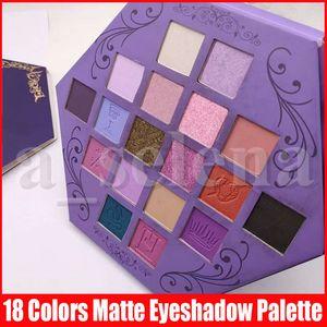 Five Star Maquillage des yeux fard à paupières Palette Blood Lust Ombre à paupières 18 couleurs de la palette yeux violet Artistry