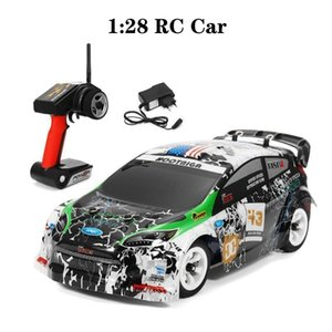 Wltoys K989 1:28 RC Car 2.4G 4WD Brushed Motor Voiture Telecommande 30KM H High Speed RTR RC Drift Car Alloy Remote Control Car 201201