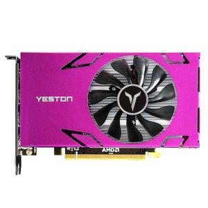 Yeston R7 350-4G 6 6 Screen Graphics Card Support Scrit Screen 4GB Memória / GDDR5 / 128BIT 4500MHZ VGA ++ DVI-D VIDEÃO
