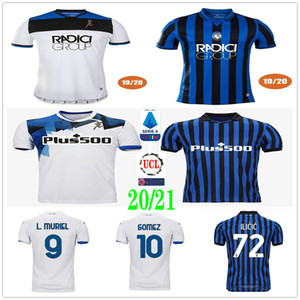 2019 2020 2021 Atalanta B.C. Home Away Soccer Jersey L.MURIEL ILICIC GOMEZ FEULE DUVAN DE ROOM Custom Atalanta BC Adult Kids Football Shirt