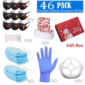 Christmas Face Mask Holder Gloves Our Explosion Luxury Gift Box Set for Proposals Making Surprises Birthday Mother Day Christmas NI89