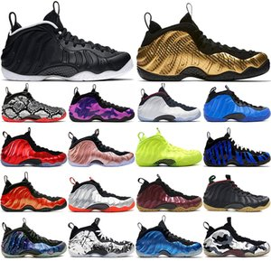 Alternate Galaxy 1.0 2.0 Olympic Penny Hardaway Black Gum White-Out Mens Basketball Shoes foams one men sports sneakers women size 40-45