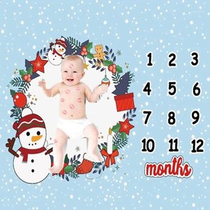 Baby Milestone Blanket Monthly Baby Blankets Newborn Soft Photography Props Angel Wing Background Blanket1