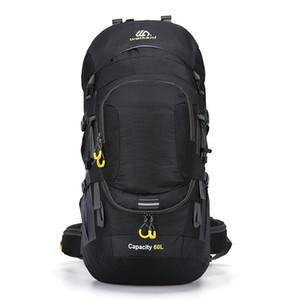 Открытый рюкзак для кемпинга 50 / 60L Мужчины с легким отражением Водонепроницаемый туристический рюкзак Человек Кемпинг Пешие сумки Backpack Sports 201103
