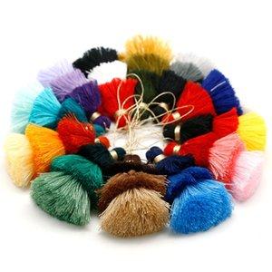 1 PZ 75mm 3 Colori Poliestere Nappa Trims Cotton Silk Nappa Trim per la decorazione domestica FAI DA TE Accessori tenda per cucire H Jllley