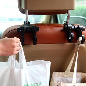 Crochet de dossier de l'auto Stockage Crochet facile pour sac Multifonction Headrest Hanger Organisateur Universal Kitchen Hanger Organisation