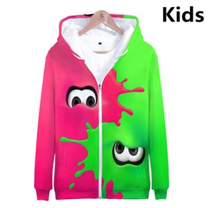 3 To 14 Years Kids Hoodies Shooting Game 3D Printed Sweatshirt Hoodie Boys Girls Cartoon Jacket Coat Children Clothes