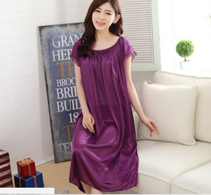 Nightgowns Sleepshirts Frauen Sommerstil