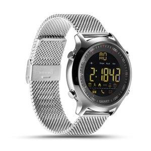 Intelligente Uhr IP67 Wasserdichte 5ATM-Passometer Schwimmen Smart Armband Sportaktivitäten Tracker Bluetooth Armbanduhr für iPhone ios Android