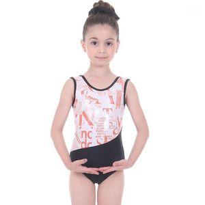 Cinta de baile gimnasia leotardo niños ropa figura patinaje rítmico para niñas ballet leotards traje de baño1
