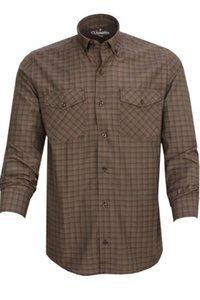Double A Pocket Shirt Style Brown Shirt Men Casual Contrast Color Social Male 'S Regular Long Sleeve Chemise Turkey