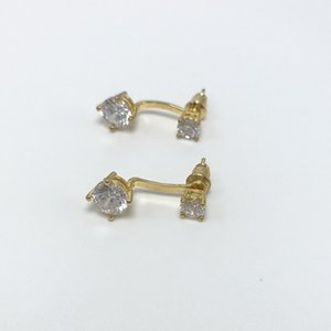 Designer earrings diamond stud earrings luxury jewelry accessories lady women party wedding lovers gift designer jewelry china