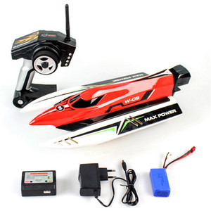 RC Boat Wltoys WL915 2.4GHz Macchina Radio Controlled Boat Brushless Motor High Speed ​​45km / h Racing RC Boat Toys per bambini 201204