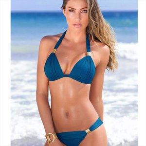 Sexy Bikini 2020 Swimsuit Set Swimwear Women Padded Thong Bathing Suit Wear Brazilian Swimming Suit Summer for Lady