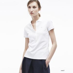 crocodile Womens Polo Shirt Top Crocodilo Embroidery Women Short Sleeve Cotton Shirt Jerseys Shirt Hot Sales Clothing p3T0QQ