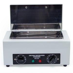 Nail STERILIZER NV-210 Сухой термоэтапная стерилизация Высокотемпературный дезинфекционный ящик для маникюрного салона оборудования ногтей металлический инструмент