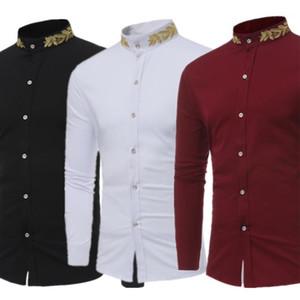 2020 Abbigliamento africano Camicia uomo dashiki Africa Abiti per uomo Ricco ricco ricamo ricamo lungo stampa tradizionale Abbigliamento africano1