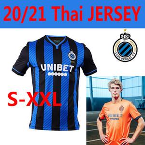 2020 2021 نادي كلوب بروج كرة القدم بالقميص الأزرق الجديد-أسود الرئيسية الزرقاء أسود KRMENCIK N.LANG الزي الرسمي VANAKEN دياتا VORMER MEN كرة القدم
