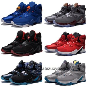 Mens Lebron 13 XIII kids basketball shoes Blue Black Gold BHM Christmas Easter Halloween James 23 flights sneakers tennis for sale