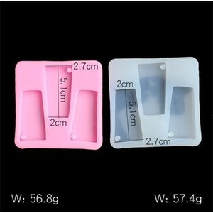 DIY Molds Tumbler Resin Silicone Molds Water Glass keychain mold Crafts Tools for Plaster
