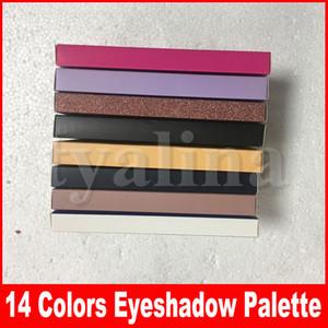 Eye Makeup Palette 14 Colors Eyeshadow Palettes 8 types Modern Soft Rose Gold Stripe Eye Shadows Make Up