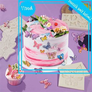 Sanxin butterfly animal triple mousse cake chocolate accessories sugar silicone mold