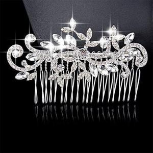 Hair Clip Hair Pins Wedding Clips Comb Crystal Headpiece Bridal Pearl Crystal Accessories Clips