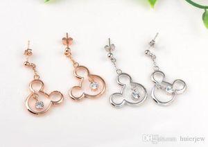 Boucles d'oreilles Marque ROXI Bijoux Boucles d'oreilles Mickry 925 Bijoux en argent pour les femmes Boucles d'oreilles