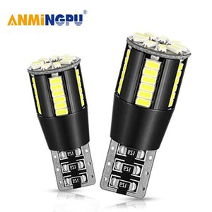 ANMINGPU 2PCS Signal Lamp Led T10 Canbus 3014SMD W5W 12V For Cars Clearance Parking Lights Interior Lamps License Plate Lights