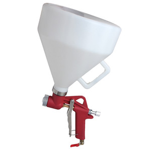 WENXING Air Hopper Spray Gun Paint Texture Tool Drywall Wall Painting Sprayer with 3 Nozzle Q1107