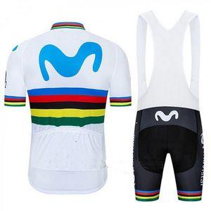 2019 Алехандро Вальверде UCI КОМАНДА SHORT SLEEVE задействуя Джерси ЛЕТО велоодежда ROPA Ciclismo + BIB SHORTS 3D GEL PAD SET SIZE: XS-4XL