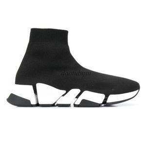 Speed stricken Socken Turnschuhe Trainer Runner Sneakers Schwarz Rot Triple Black Oreo arbeiten flachen Socken Stiefel Freizeitschuhe s1