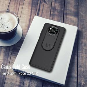 Для Xiaomi Poco X3 NFC Nillkin Camshield камеры Защита телефона чехол объектива Защитный чехол для Xiaomi Poco X3 NFC