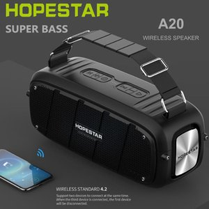 HOPESTAR A20 Powerful Bass 55W Bluetooth Speaker Portable Column Big Power Subwoofer SuperBass System Music Center For Computer