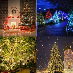 Holiday Led Christmas Lights Outdoor 100m 50m 30m 20m 10m Led String Lights Decoration For Party Holiday Wedding Garland Swy sqczOj