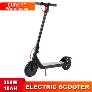 Q6 Long Endurance 10AH Battery Electric Scooter 350W Motor Foldable Kick Scooter 8.5inch Tire with LED Power Display E-bike Scooters