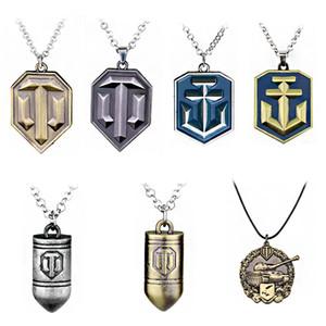 Spiel World Of Tanks Halskette Tanks Flagge Calm Medaille Anhänger 3D-Form-Anhänger Metall Figur Toy Play Zubehör