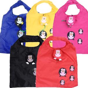 Симпатичные животные собаки Panda Форма Складная хозяйственная сумка бакалеи хранения дамы складной многоразовый Tote сумки Портативный Путешествия Shopper Bag wmtbIc