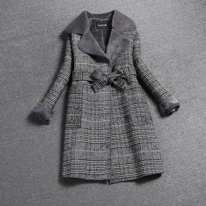 Liva Mädchen 2020 neue Frauen-Winter-Mantel-lange dicke Jacke Kostüm Frauen-Pelz-Jacken Elegante Damen nehmen Mäntel Hohe Qualität