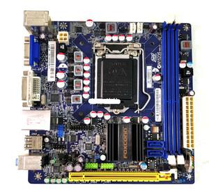 H61S Mini ITX Intel H61 schede madri LGA 1155 LGA1155 VGA DVI 17 * 17 a 22 nm CPU supportate con IO BP