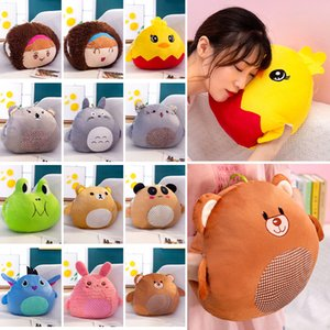 New style cartoon warm hands hold pillow soft and comfortable plush toy cute doll children gift
