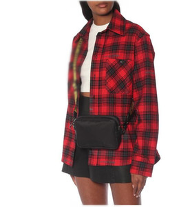 2020 مصمم ماركة الرجال قبالة قماش الأصفر حزام حقيبة الكتف حقيبة الصدر حقيبة الخصر متعدد الأغراض حقيبة الكتف حقيبة رسول المرأة حقائب